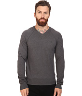 Original Penguin - Long Sleeve V-Neck Pima Cotton Sweater