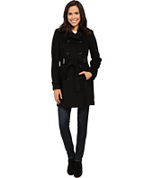 Calvin Klein - Double-Breasted Belted Wool Coat