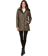 Calvin Klein - Waxy Rain Anorak with Detachable Faux Fur Hood