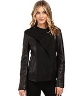 Vince Camuto - Fitted Leather with Faux Suede Cascade Hood L8941