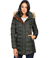 Vince Camuto - Faux Fur Trim Hooded Down L8791