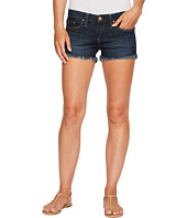 Blank NYC - Dark Denim Cut Off Shorts in Da Fuq