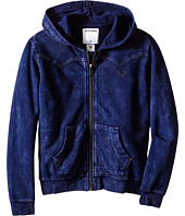 True Religion Kids - French Terry Western Hoodie (Toddler/Little Kids)