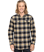 VISSLA - The Bluff Plaid Long Sleeve Heavy Weight Plaid Flannel