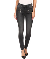 Paige - High Rise Edgemont Ultra Skinny in Smoke Grey