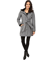 Jessica Simpson - Long Softshell w/ Faux Fur Collar and Hood