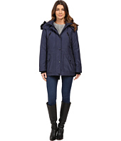 Jessica Simpson - Anorak Quilted Bonded w/ Hood and Faux Fur
