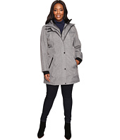 Jessica Simpson - Plus Size Softshell with Bib and Faux Fur Collar