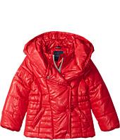 Tommy Hilfiger Kids - Pillow Collar Puffer Jacket (Big Kids)