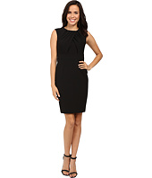 Adrianna Papell - Faux Overlapping Bodice Sheath Dress