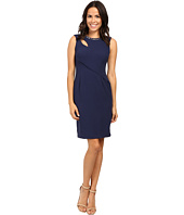 Adrianna Papell - Cut Out Sheath Dress with Hardware