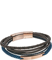 Fossil - Vintage Casual Steel Multi-Strand Bracelet