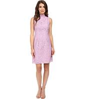 Adrianna Papell - A-Line Mock Neck Juliet Lace Dress