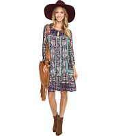 Lucky Brand - Scarf Print Dress