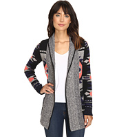 Lucky Brand - Intarsia Sweater Coat