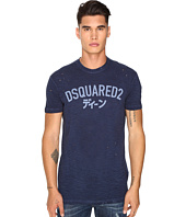 DSQUARED2 - Long Cool Fit Japanese Indigo T-Shirt