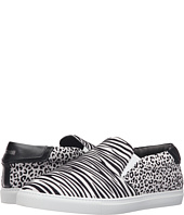 Just Cavalli - Flock Zebra and Jaguar Leather Sneakers