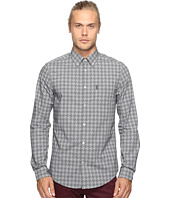 Ben Sherman - Long Sleeve Overprinted Dogtooth Woven