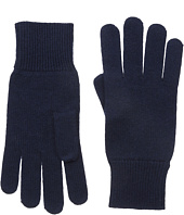 Lacoste - Green Croc Cashmere Jersey Gloves