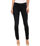 Hudson - Collin Mid-Rise Skinny in Washed Black in Hardline