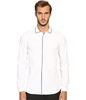 The Kooples - Classic Collar Shirt w/ Navy Piping