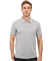 Lacoste - Short Sleeve Mercerized Pique Polo w/ Tonal Embroid Croc