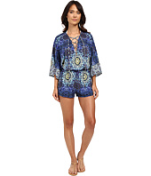 Red Carter - Polaris Jersey Paneled Romper Cover-Up