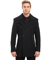 John Varvatos Star U.S.A. - Peacoat w/ Zipper Teeth Trim O1454S3L