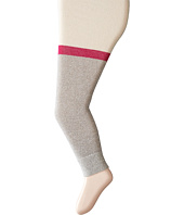 Hatley Kids - Cream with Grey Glitter Knit Tights (Toddler/Little Kids/Big Kids)