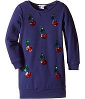 Little Marc Jacobs - Milano Ceremony Dress with Sequined Cherry Patterns (Toddler/Little Kids)