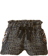 Little Marc Jacobs - Resort - Lurex Shorts Panter Pockets Details (Toddler/Little Kids)