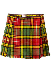Junior Gaultier - Plaid Yellow Skirt (Toddler/Little Kids)