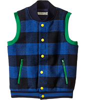 Stella McCartney Kids - Bram Checkered Wool Vest (Toddler/Little Kids/Big Kids)