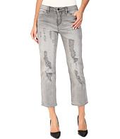 Calvin Klein Jeans - Destroyed Crop Straight Jeans in Grey Fog