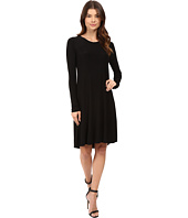 KAMALIKULTURE by Norma Kamali - Long Sleeve Swing Dress