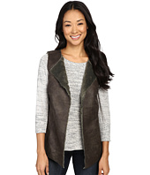 Dylan by True Grit - Easy Rider Vintage Faux Leather Reversible Vest