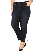 Jag Jeans Plus Size - Plus Size Penelope Narrow Ankle in Indio Platinum Denim