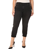 NYDJ Plus Size - Plus Size Sylvia Relaxed Boyfriend Jeans in Future Fit Denim in Kensington