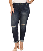 KUT from the Kloth - Plus Size Catherine Slouchy Boyfriend Jeans in Commitment