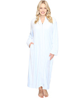 Carole Hochman - Plus Size Velour Zip Robe