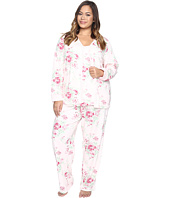 Carole Hochman - Plus Size Three-Piece Pajama Set