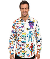 Robert Graham - Robot Bulldogs Limited Edition Long Sleeve Woven Shirt