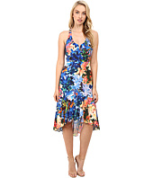 Nicole Miller - Tie-Dye Flowers Saturday Dress