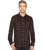 True Grit - Sueded Checks Long Sleeve Two-Pocket Shirt