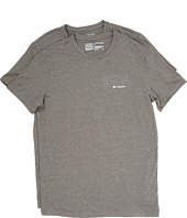 Columbia - Performance Cotton Crew T-Shirt 2-Pack