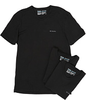 Columbia - 100% Cotton V-Neck T-Shirt 3-Pack