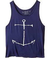 The Original Retro Brand Kids - Anchor Rayon Swing Tank Top (Big Kids)