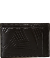 MARNI - Flower Embossed Leather Card Holder