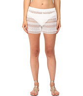 Queen & Pawn - Marathi Lace Vintage-Dyed Beach Shorts