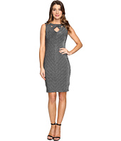 rsvp - Azalea Metallic Bodycon Midi Dress